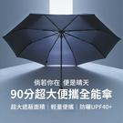 米家 90分 超大 便捷 全能傘 三折傘 防雨 防曬 折疊傘 陽傘 雨傘