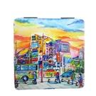 【收藏天地】台灣紀念品*雙面隨身鏡-西門町∕小物 送禮 文創 風景 觀光  禮品