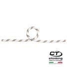 9.5mm靜力繩 FIDES III 7W159 Climbing Technology/城市綠洲(黑色、橘/灰/白、攀岩繩帶、歐洲製造)