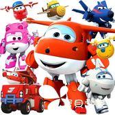 奧迪雙鉆超級飛俠玩具一套裝全套大號變形樂迪金剛機器人國際機場