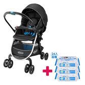 【送貝恩嬰兒柔濕巾一箱】GRACO 購物型雙向嬰幼兒手推車豪華休旅 CITINEXT CTS (三款)