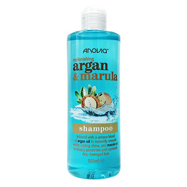 英國製造 Anovia 摩洛哥堅果油&漆樹果仁款 洗髮精 500ml (Argan & Marula)