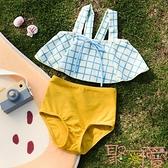 愛多爾兒童泳衣女溫泉分體女童泳裝寶寶小童游泳衣【聚可愛】
