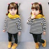 兒童衛衣女寶寶秋冬季新款韓版女童3周歲嬰幼兒秋裝小女孩打底衫 CY潮流站