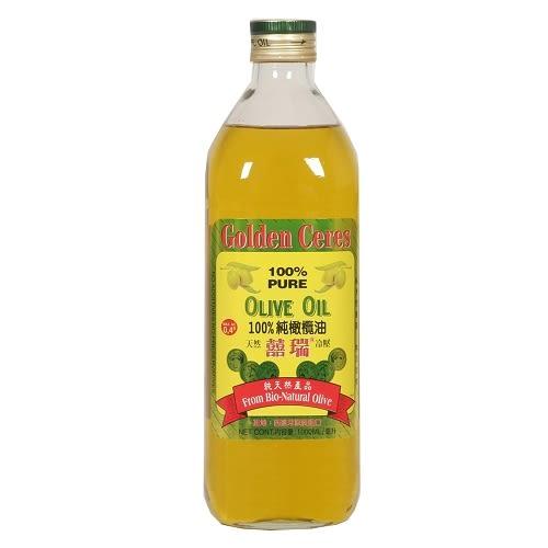 囍瑞天然冷壓100%純橄欖油1000ml【愛買】