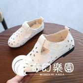 春夏季新款韓版女童涼鞋鏤空兒童單鞋皮鞋時尚休閑鞋透氣鞋子-奇幻樂園