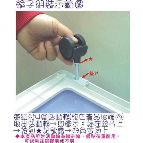 【DOLEDO】中生活五層置物櫃(二色可選)