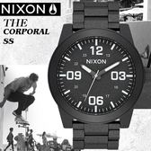 NIXON The Corporal軍事戰略大錶徑潮流腕錶A346-2858公司貨/極限運動/禮物