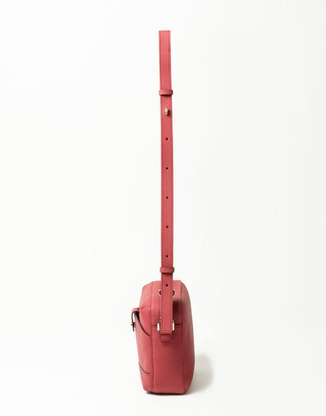 MSPC(master-piece) ROUND No.601020-BORDEAUX [高質感日本小牛皮側背包-波爾多紅色]