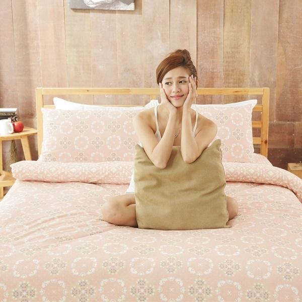 #KC007#新款上市100%純棉針織床包被套雙人四件組/全棉/新疆棉/天竺棉