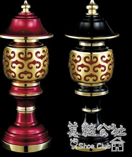 佛教用品蓮花燈LED供佛一對 BS20283『美鞋公社』
