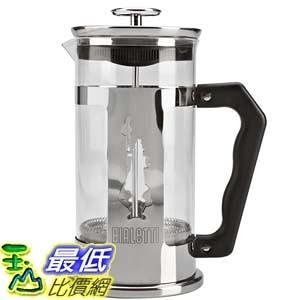 [美國直購] Bialetti 咖啡壺 Preziosa 8 Cup French Press Coffee Maker 18/10不鏽鋼 法壓壺
