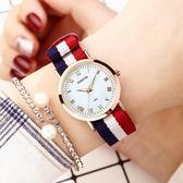 手錶女 韓版簡約手錶女夜光中學生情侶手對表時尚潮流新款 爾碩數位3c