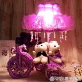 婚慶台燈紅色創意結婚禮物婚房台燈紅色婚房床頭燈新婚房臥室台燈  (橙子精品)