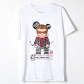 【人氣熊】鷹眼T恤-白色、黑色(請附註購買顏色)