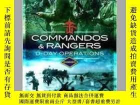 二手書博民逛書店Commandos罕見& Rangers D-Day Operations (damaged)-突擊隊和突擊隊D日