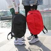 書包後背包男時尚韓版休閒旅行運動背包潮校園帆布簡約百搭學生書包女台北日光