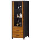 【采桔家居】茉倫  時尚2.2尺二門二抽展示櫃/收納櫃