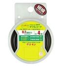 車之嚴選 cars_go 汽車用品【2802】日本AMON 車內外用 低功率配線用電線 黒/黒白 雙線 0.2sq(AWG24) 4m長