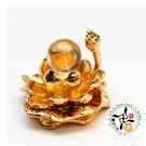 水晶球+金蓮座 【十方佛教文物】