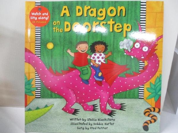 【書寶二手書T1/少年童書_J2S】A Dragon on the Doorstep_Blackstone, Stella