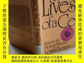 二手書博民逛書店The罕見lives of a cell: Notes of a