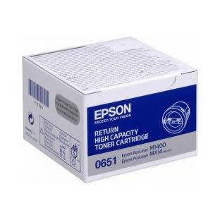 【全館免運●3期0利率】EPSON 原廠碳粉匣 S050651 適用EPSON M1400/MX14/MX14NF 雷射印表機