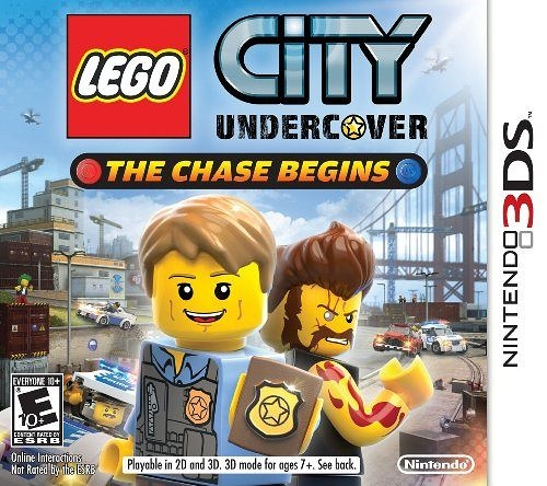 3DS LEGO City Undercover: The Chase Begins 樂高小城:臥底密探(美版代購)