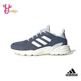 adidas 90S SOLUTION 成人女款 運動鞋慢跑鞋 R9395#藍色◆OSOME奧森鞋業