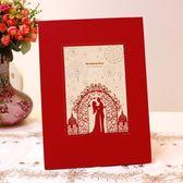 個性創意歐式西式婚禮結婚婚宴婚慶簽到本冊簽名冊婚慶用品簽到簿 初見居家