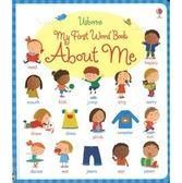 《小寶寶的認知書》USBORNE: MY FIRST WORD BOOK ABOUT ME /精裝硬頁 (主題:認識自己)