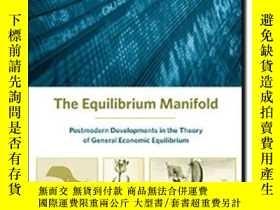 二手書博民逛書店The罕見Equilibrium ManifoldY256260 Yves Balasko Mit Press