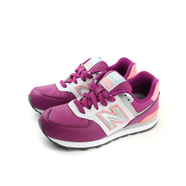 New Balance 574系列 跑鞋 紫色 童 no247