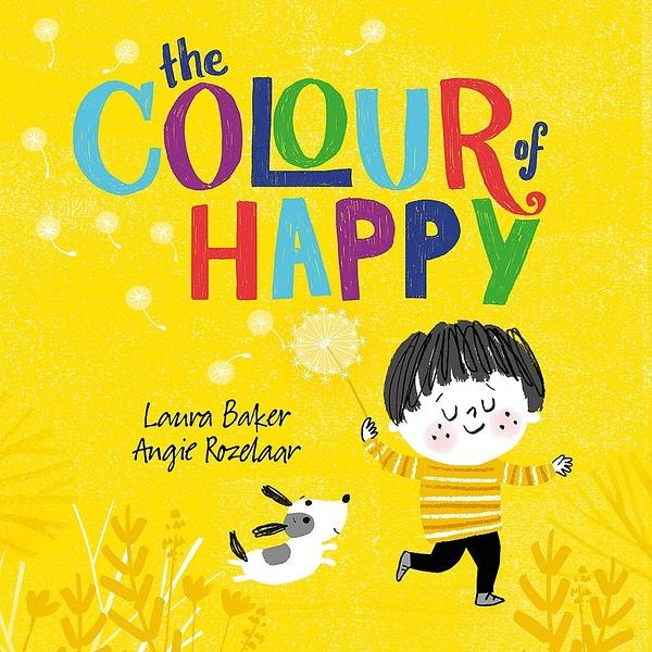 【麥克書店】THE COLOUR OF HAPPY /平裝繪本《主題: 顏色.情緒》