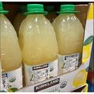 [COSCO代購] C736083 Kirkland Signature 科克蘭 有機檸檬果汁飲料 2.84公升 X 2入