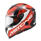 【東門城】ASTONE GTB800 AO11(黑/紅) 全罩式安全帽