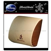 【愛車族】Disney 米奇低反彈腰靠墊-米色 WDC-096C 迪士尼系列