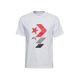 CONVERSE- 星箭短袖上衣 白 -NO.10017452-A01