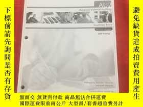 二手書博民逛書店CGA罕見AU2 Advanced External Auditing Readings Book PACE Le