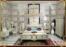 [紅蘋果傢俱] 宮廷床 宮廷凡爾賽系列 歐式 雙人床 新古典 床台 床架 高檔 法式 奢華