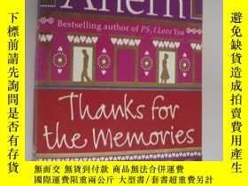二手書博民逛書店Thanks罕見for the Memories 包 Y1468