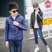 兒童羽絨服新冬日韓中大童輕薄款棉服男女童短款保暖棉襖外套