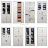 奧克林加厚a4文件柜鐵皮柜書柜儲物柜帶鎖檔案柜資料憑證柜子