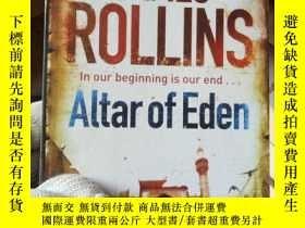 二手書博民逛書店伊甸園的祭壇罕見Altar of Eden(James Roll