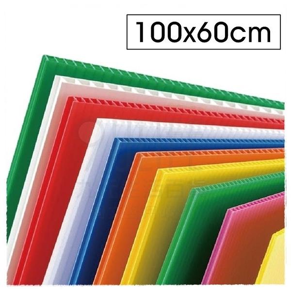 【九元生活百貨】PP瓦楞板/60x100cm 多色可挑 珍珠板 PP板 造型板 廣告看板 道具 美工勞作