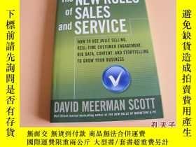二手書博民逛書店英文原版The罕見New Rules of Sales and Service。Y178606 David M