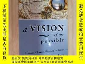 二手書博民逛書店a罕見VISION of the possible~daniel sinclair(英文原版)Y19246 見