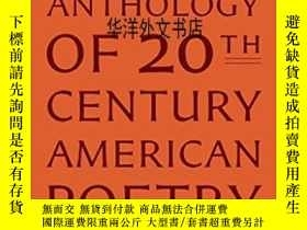 二手書博民逛書店【罕見】The Penguin Anthology Of Twentieth-century American P