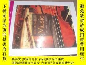 二手書博民逛書店MUSIC罕見an appreciation 附盤Y14147