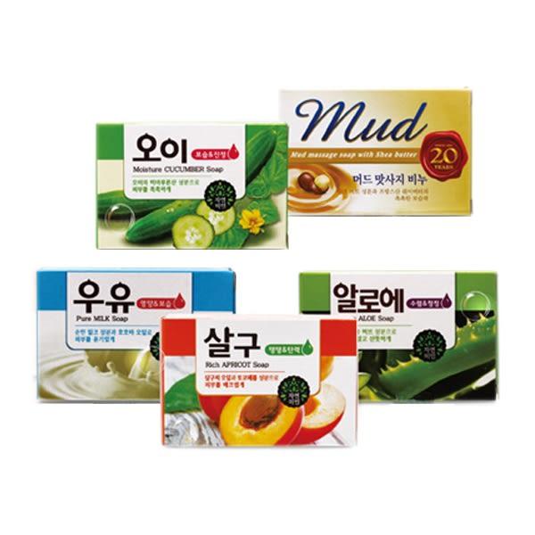 韓國 MKH 無瓊花 保濕美肌皂/SPA放鬆泥皂(100g) 5款可選【小三美日】身體皂